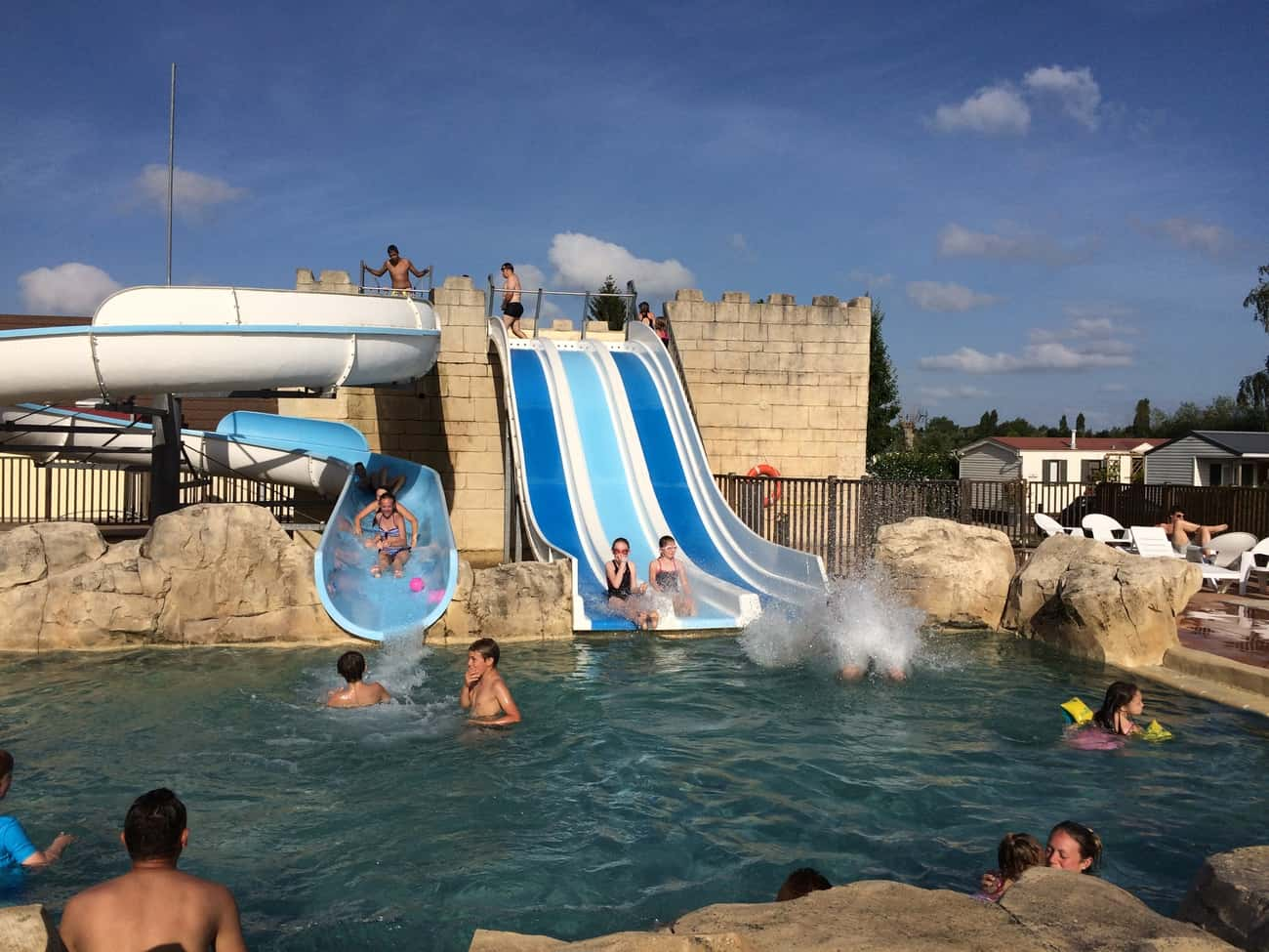Deauville - campsite waterpark