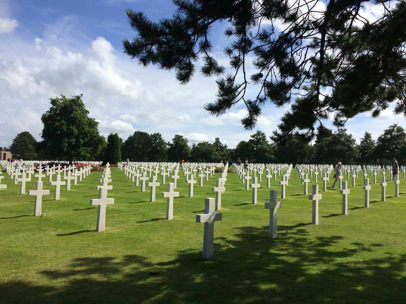 Normandy beaches - American cemetery