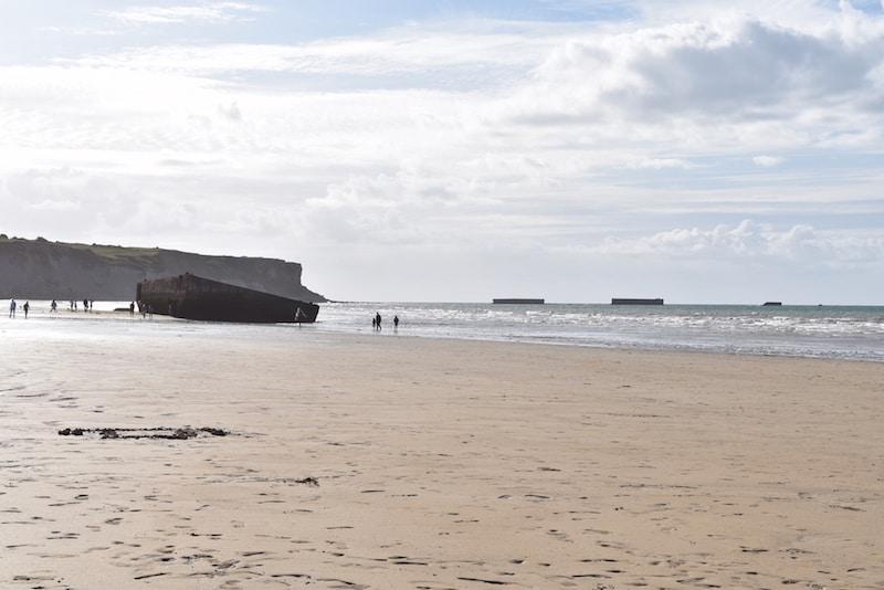 Normandy beaches - Arromanches