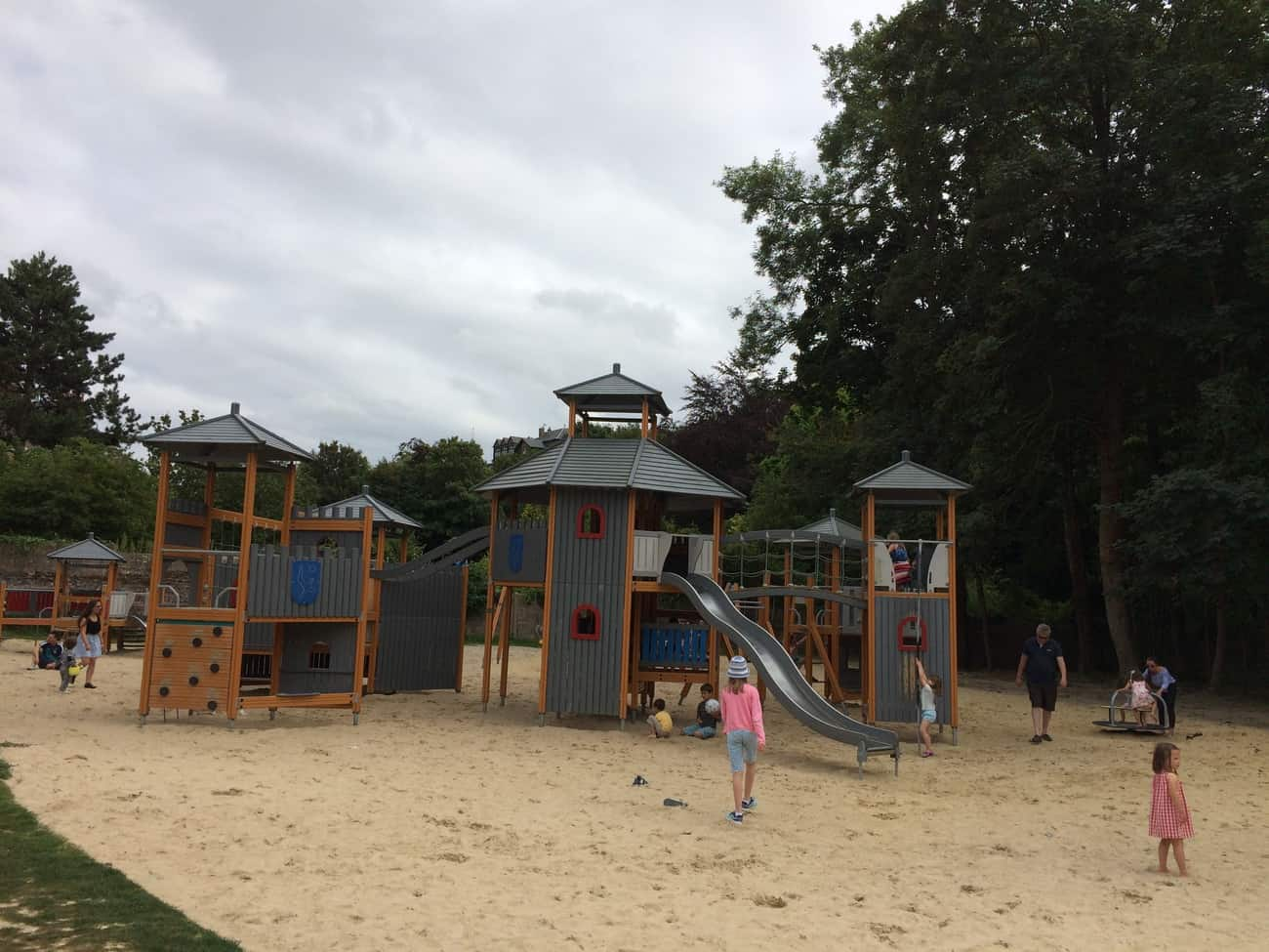 St Valery sur Somme - playground