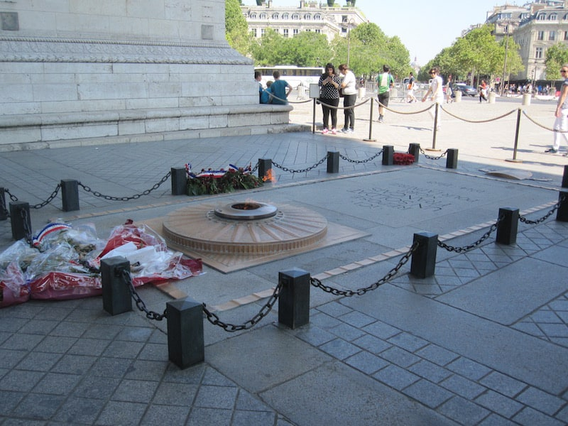 Paris - tomb of the unknown soldier