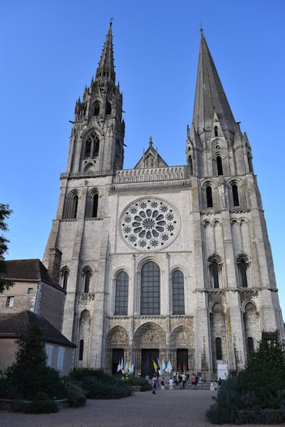 Chartres - cathedral west portal