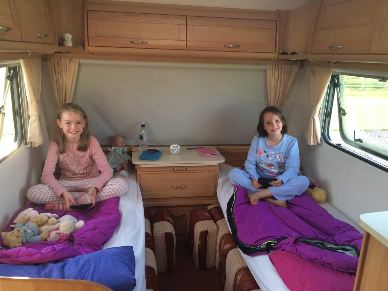 Caravan - kids' beds