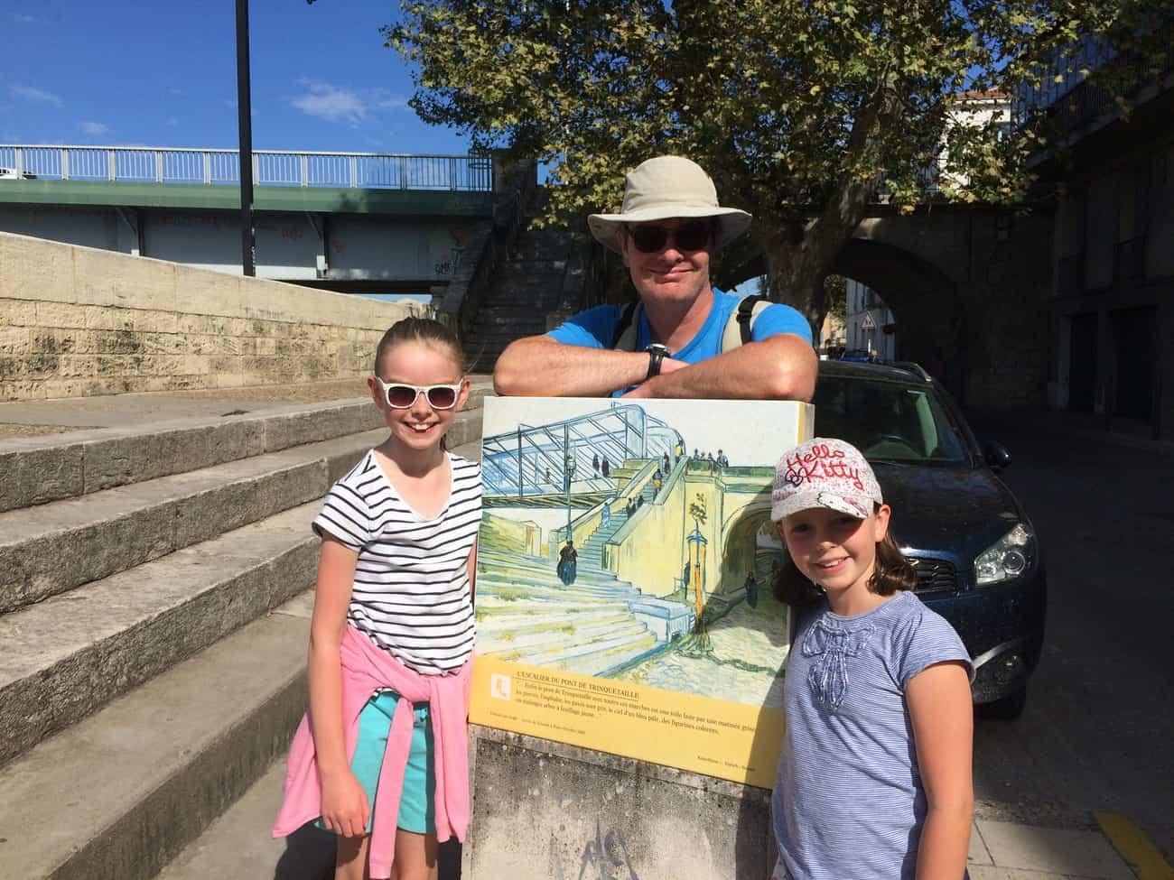 Arles - Van Gogh trail - Trinquetaille Bridge