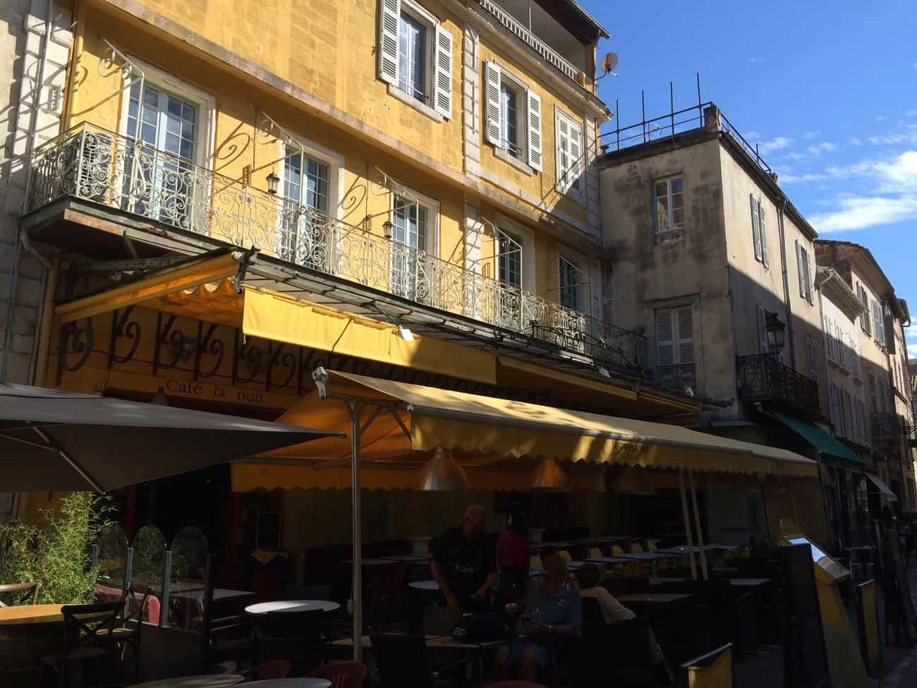 Arles - Van Gogh trail - Le Café Le Soir today