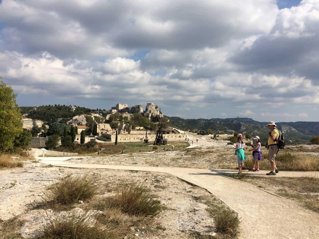 Les Baux - huge site