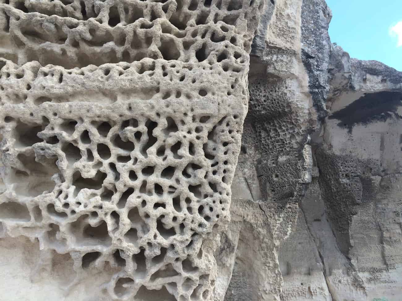 Les Baux - rock patterns