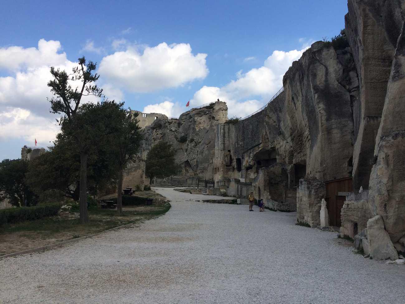 Les Baux - castle