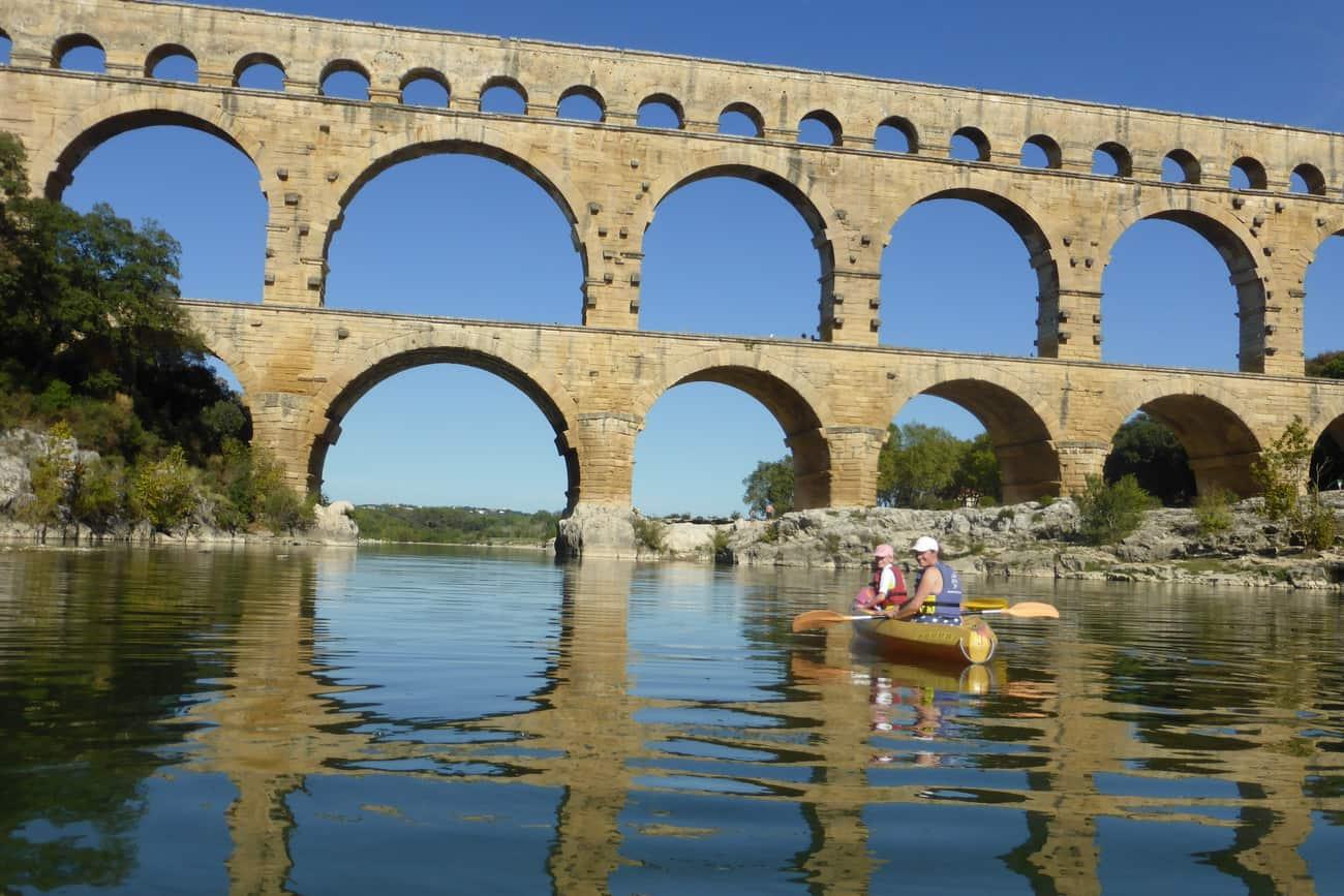 Canoeing - Pont du Gard
