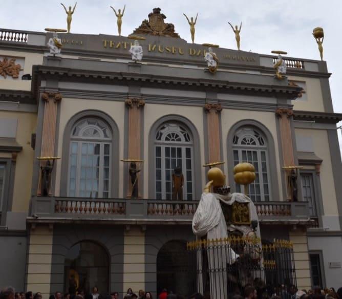 Dali Theatre Museum - facade
