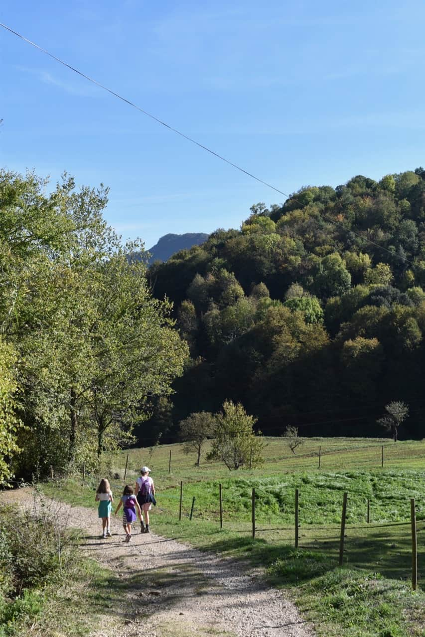 Garrotxa Volcanic Natural Park - lovely walk