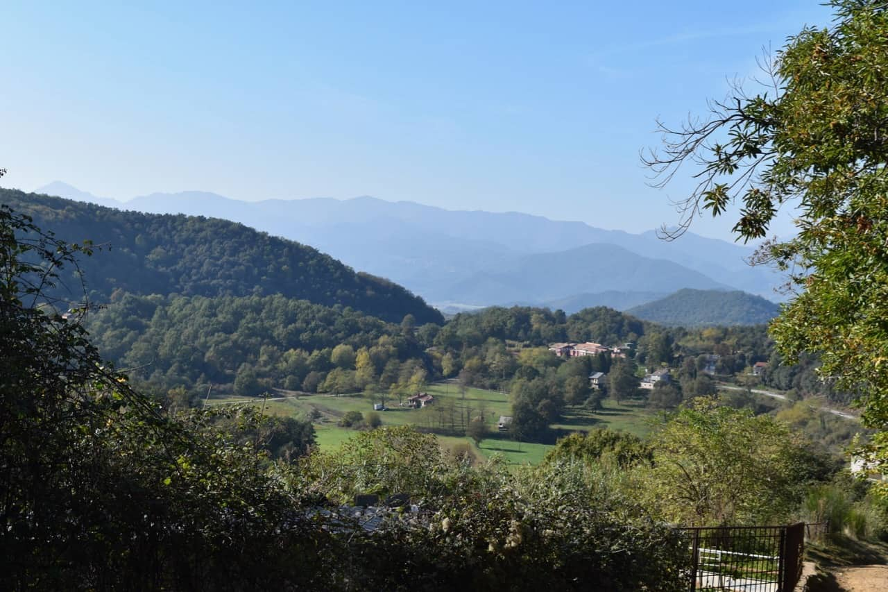 Garrotxa Volcanic Natural Park - beautiful landscape