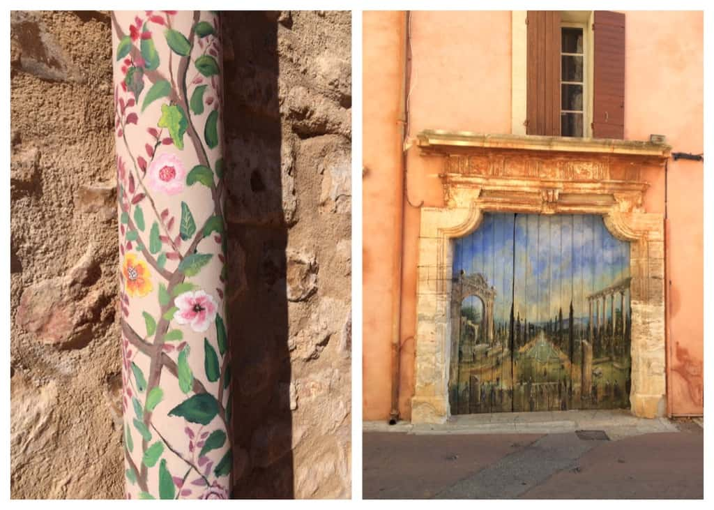 Roussillon - art everywhere