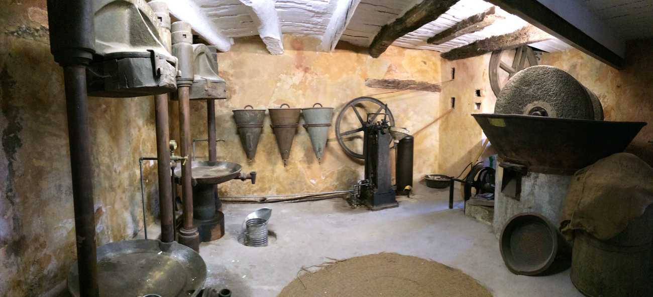 Roussillon - old olive mill