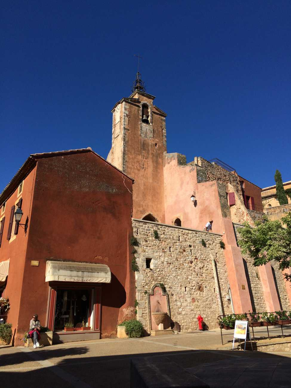 Roussillon - church