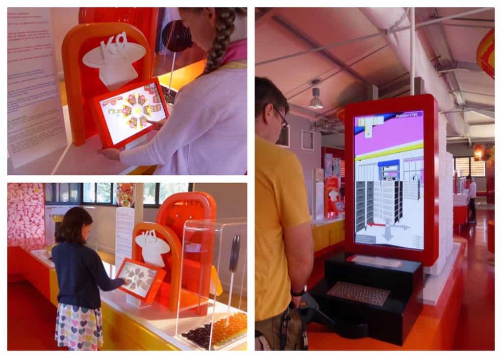 Haribo museum - interactive games