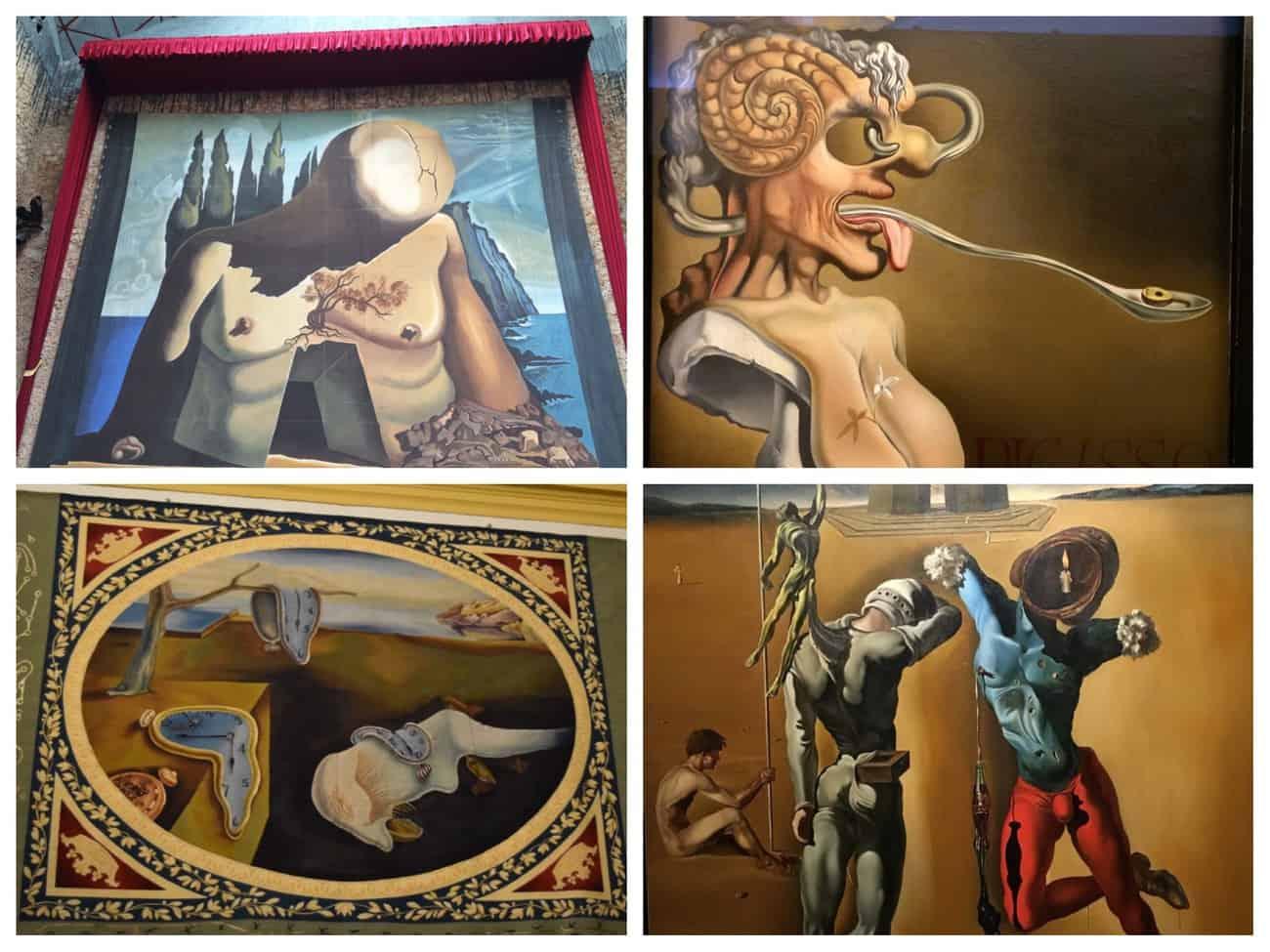 Dali Theatre Museum- surrealist works