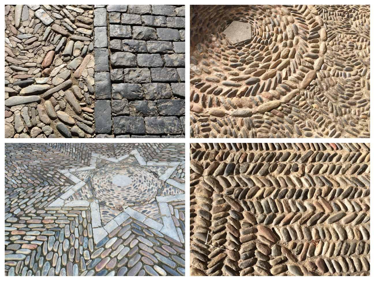 Girona, Catalonia - pavements