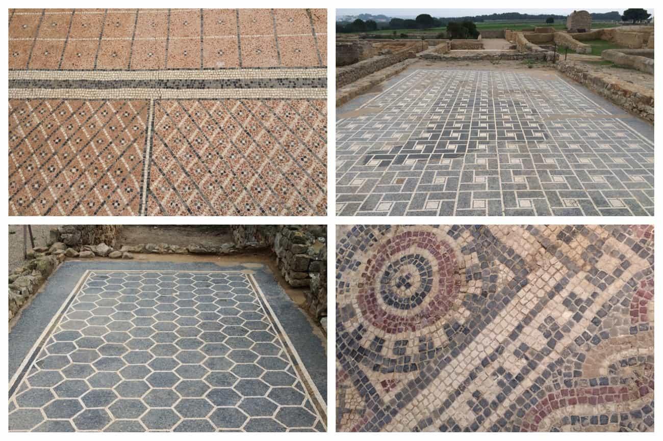 Empuries, Spain - Roman mosaics_2