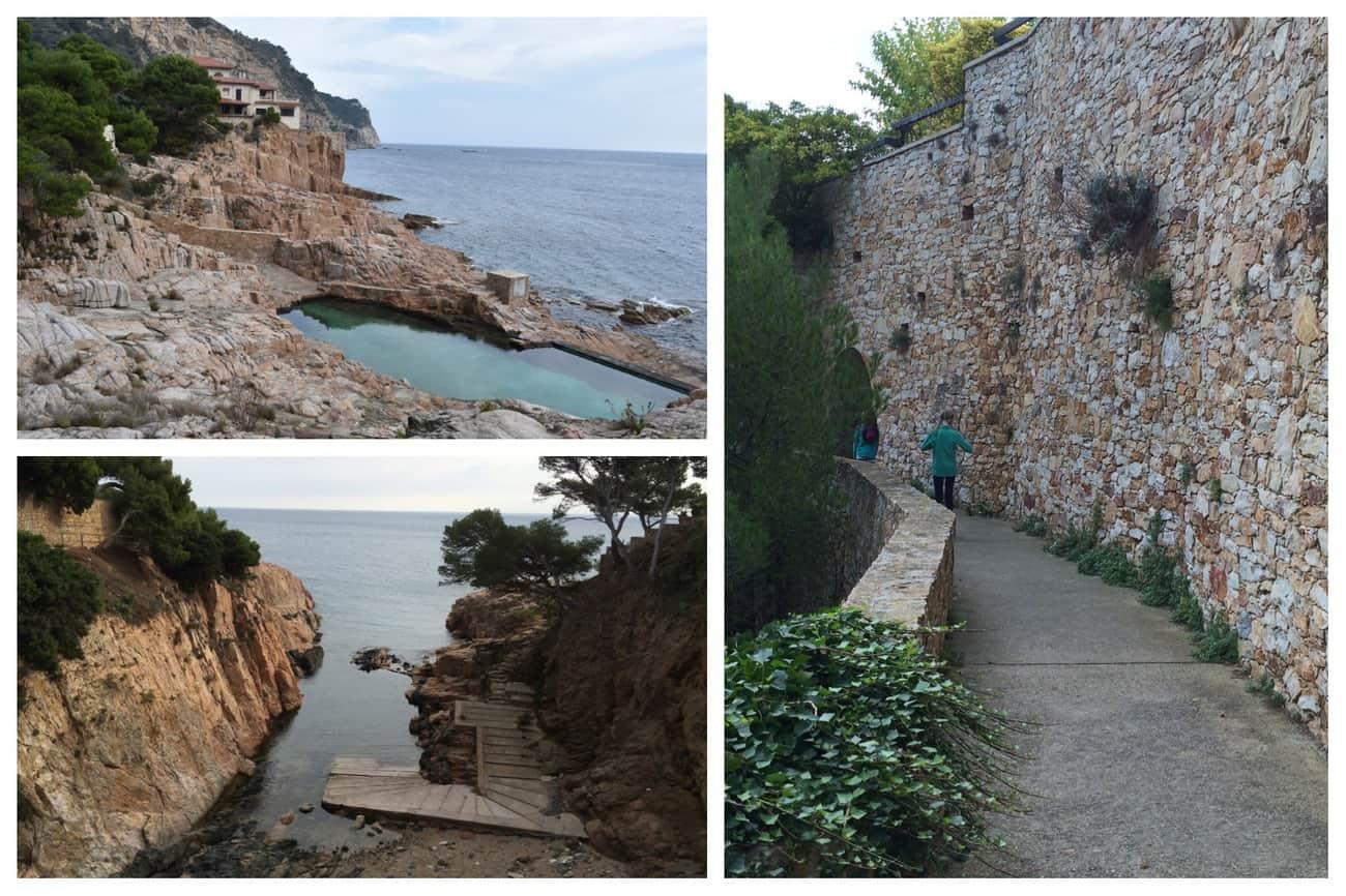 Cami de Ronda - seawater pool