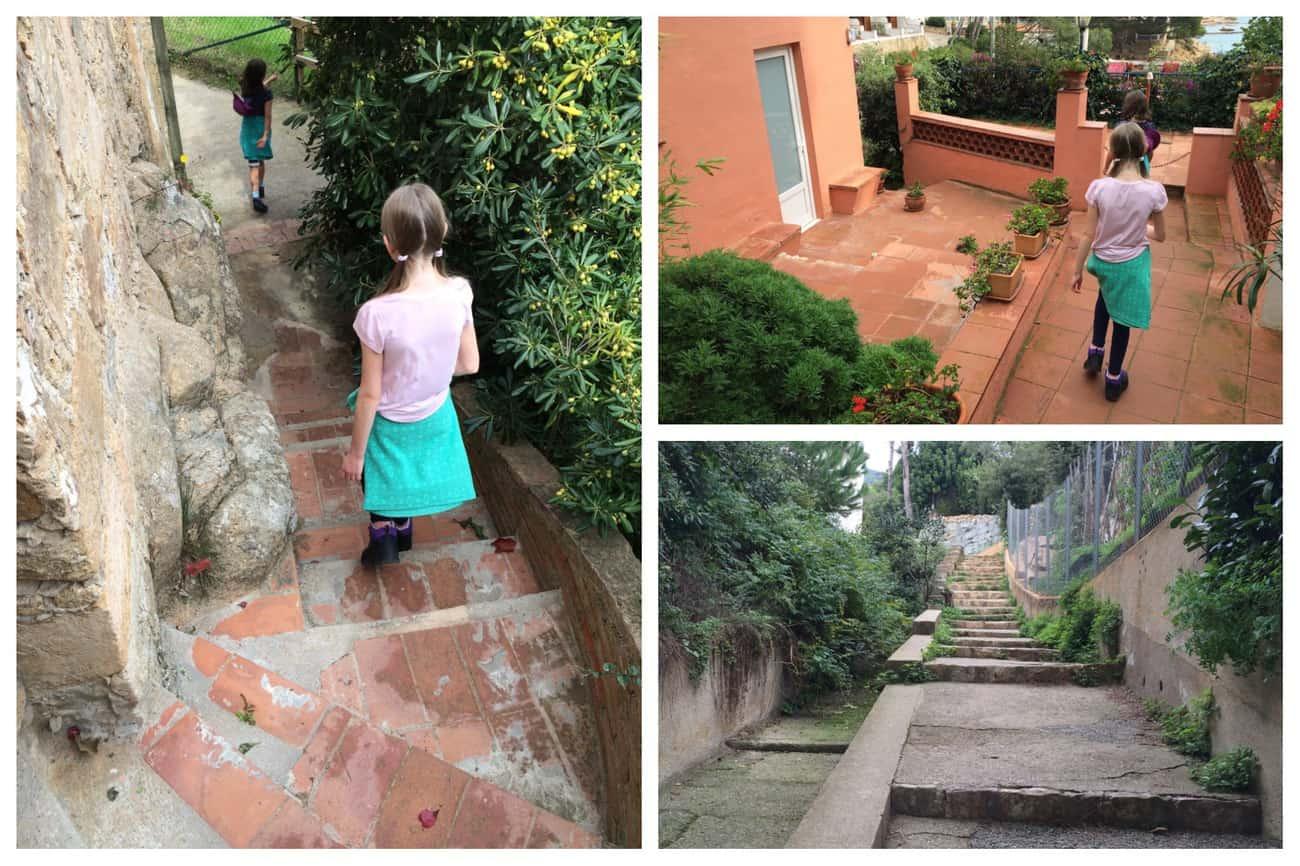 Cami de Ronda - sections of the walk