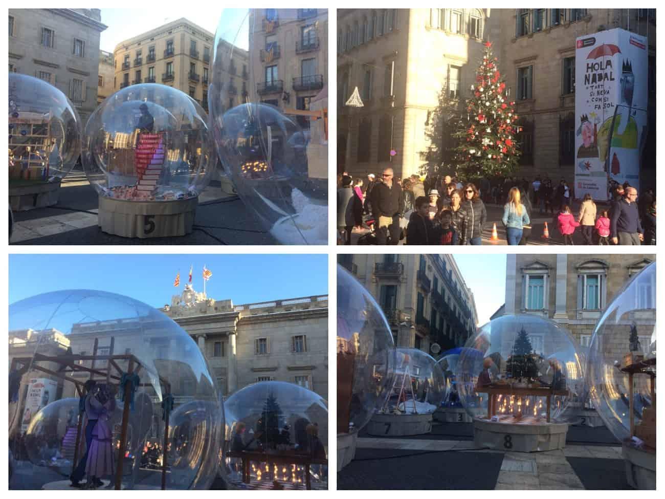 Barcelona Christmas - Placa de Sant Jaume