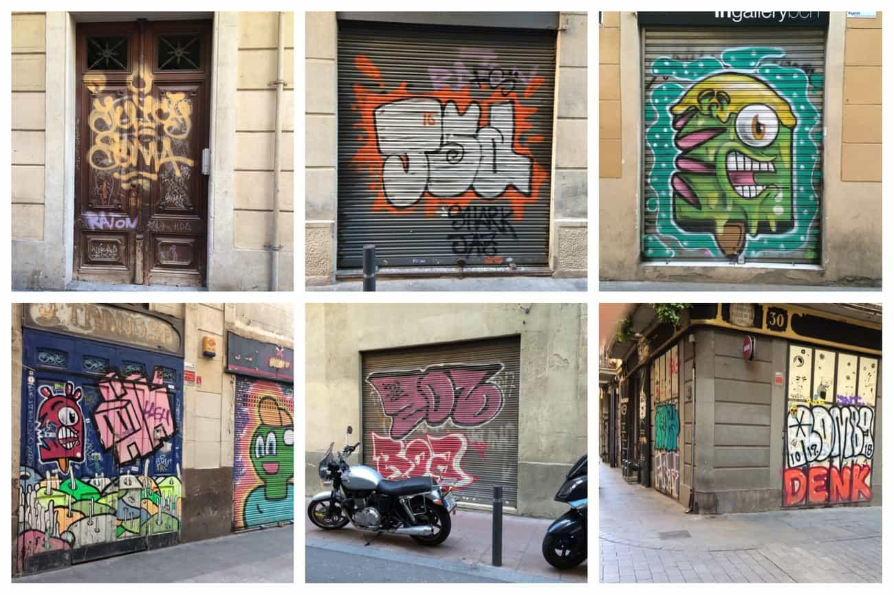 Barcelona - graffiti
