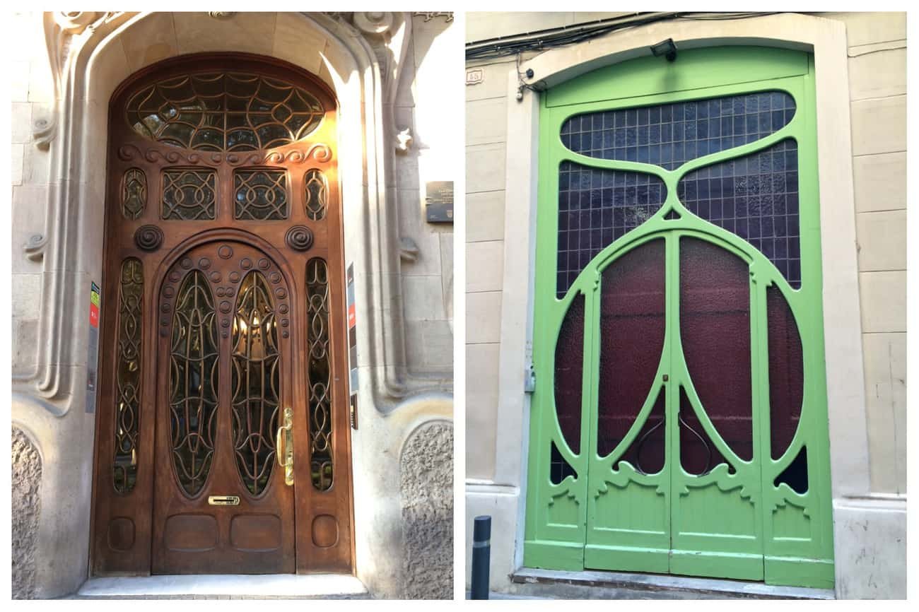 Barcelona - beautiful doorways