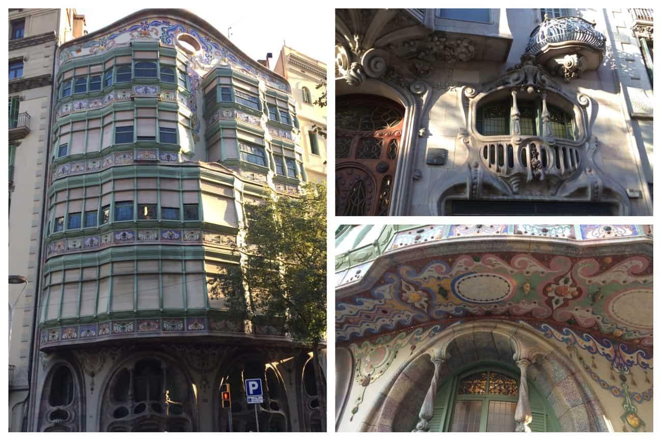 Barcelona - interesting architecture