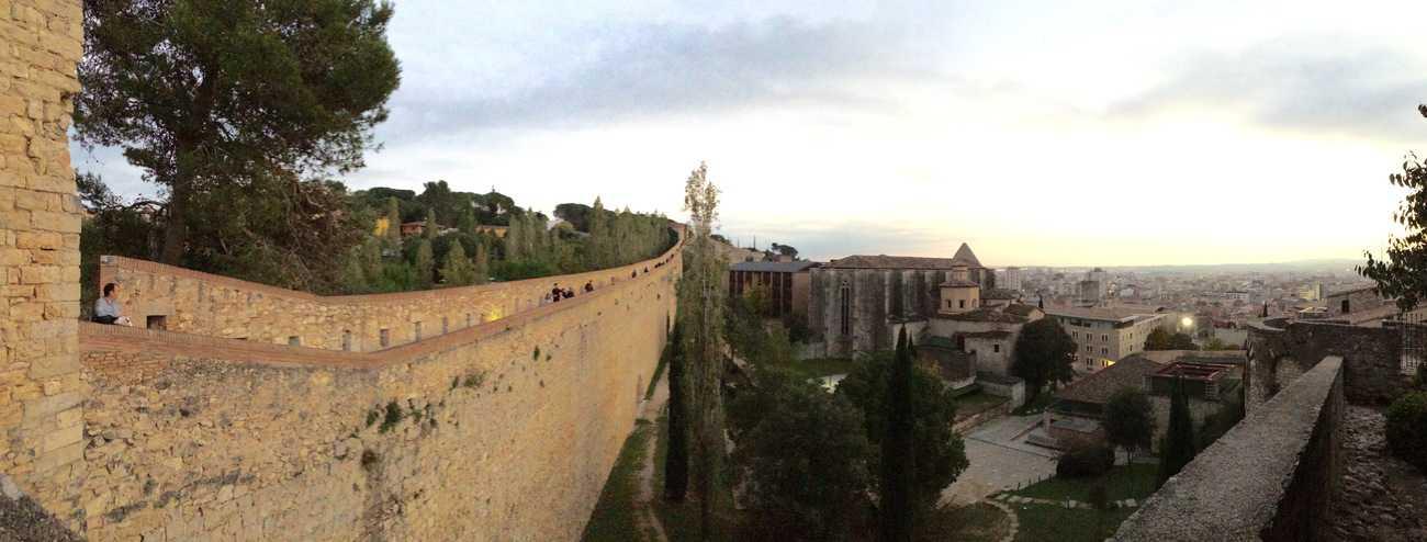 Girona - medieval walls