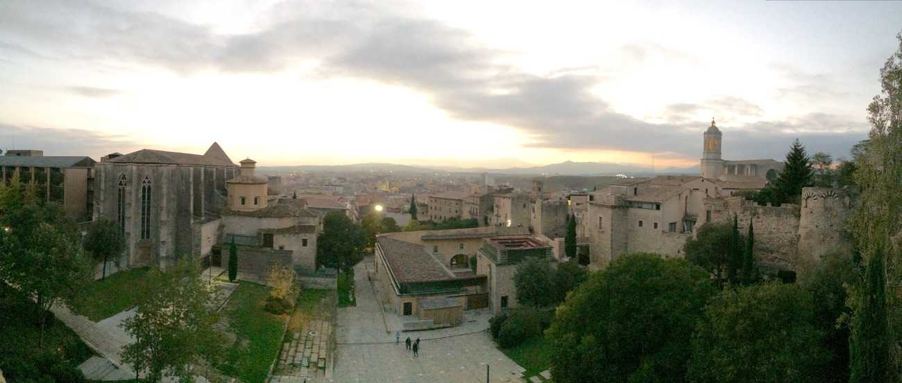 Girona - view from the medieval walls