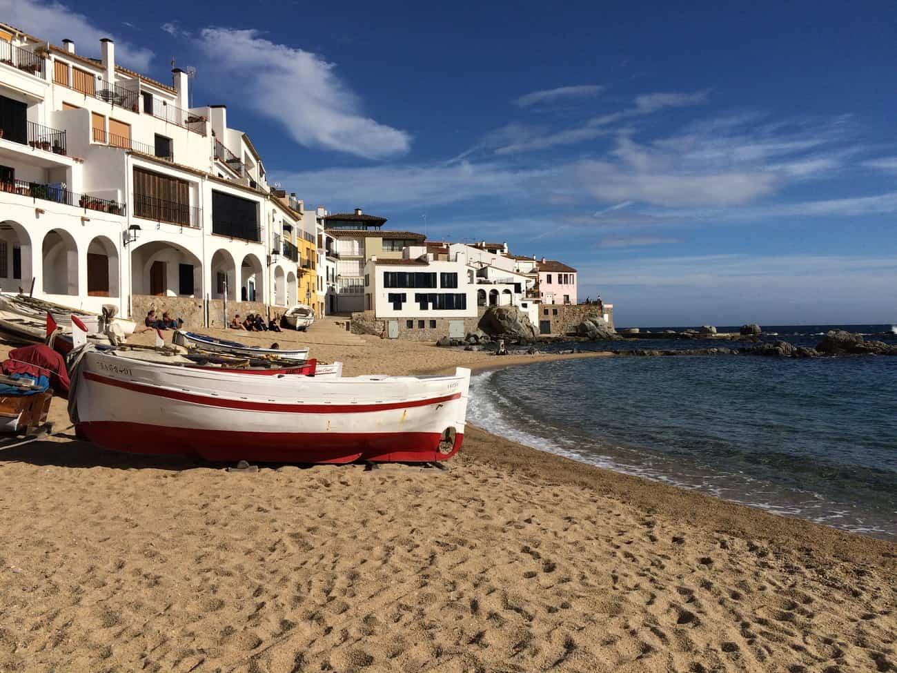 Cami de Ronda - Port Bo - Calella de Palafrugell - fishing boats