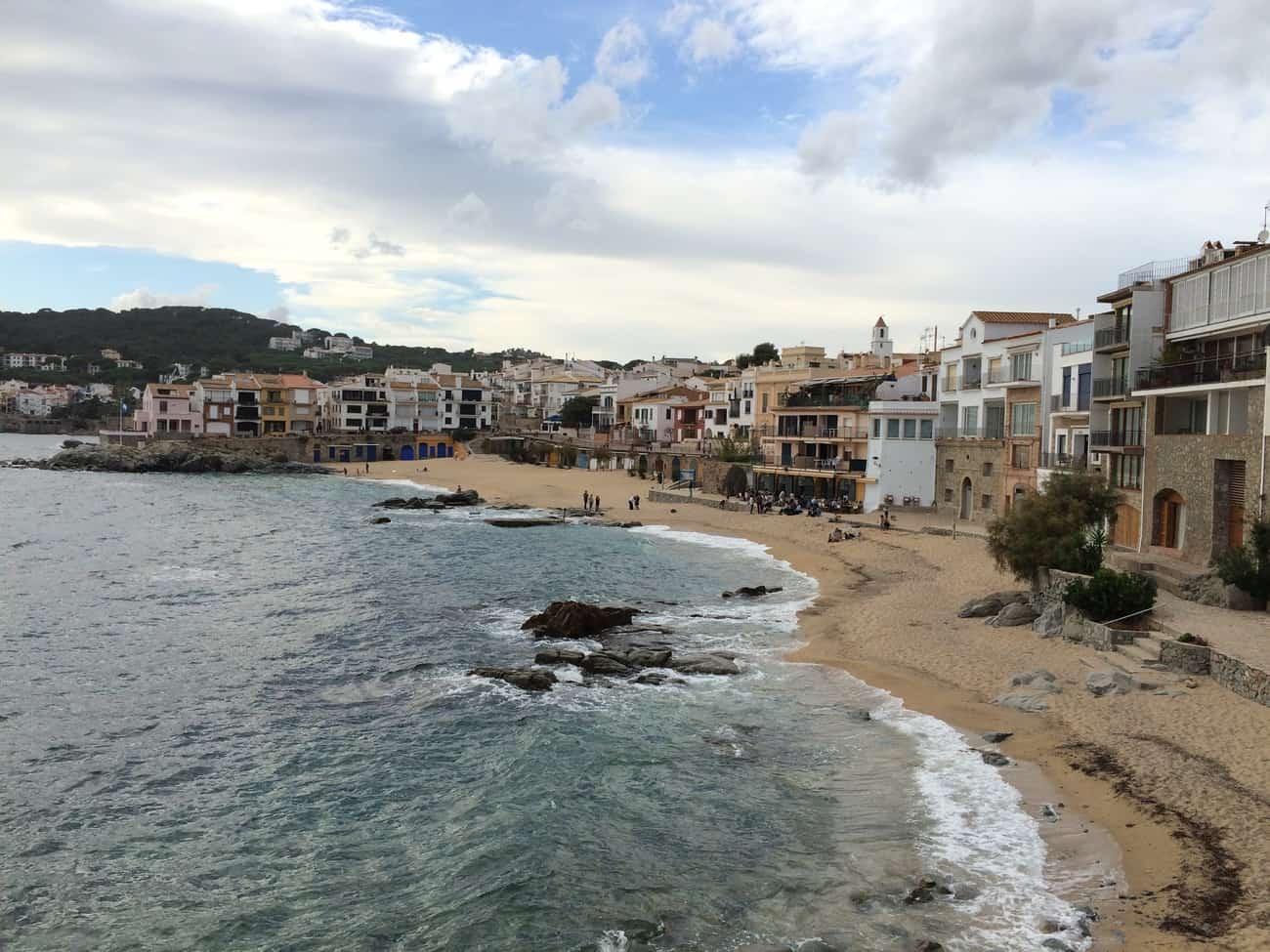 Cami de Ronda - Calella de Palafrugell - Canadell beach2