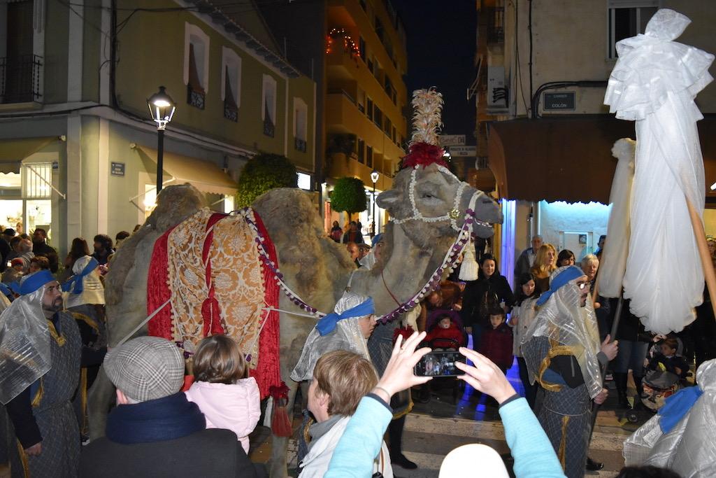 Three Kings parade - Vilajoysa camel