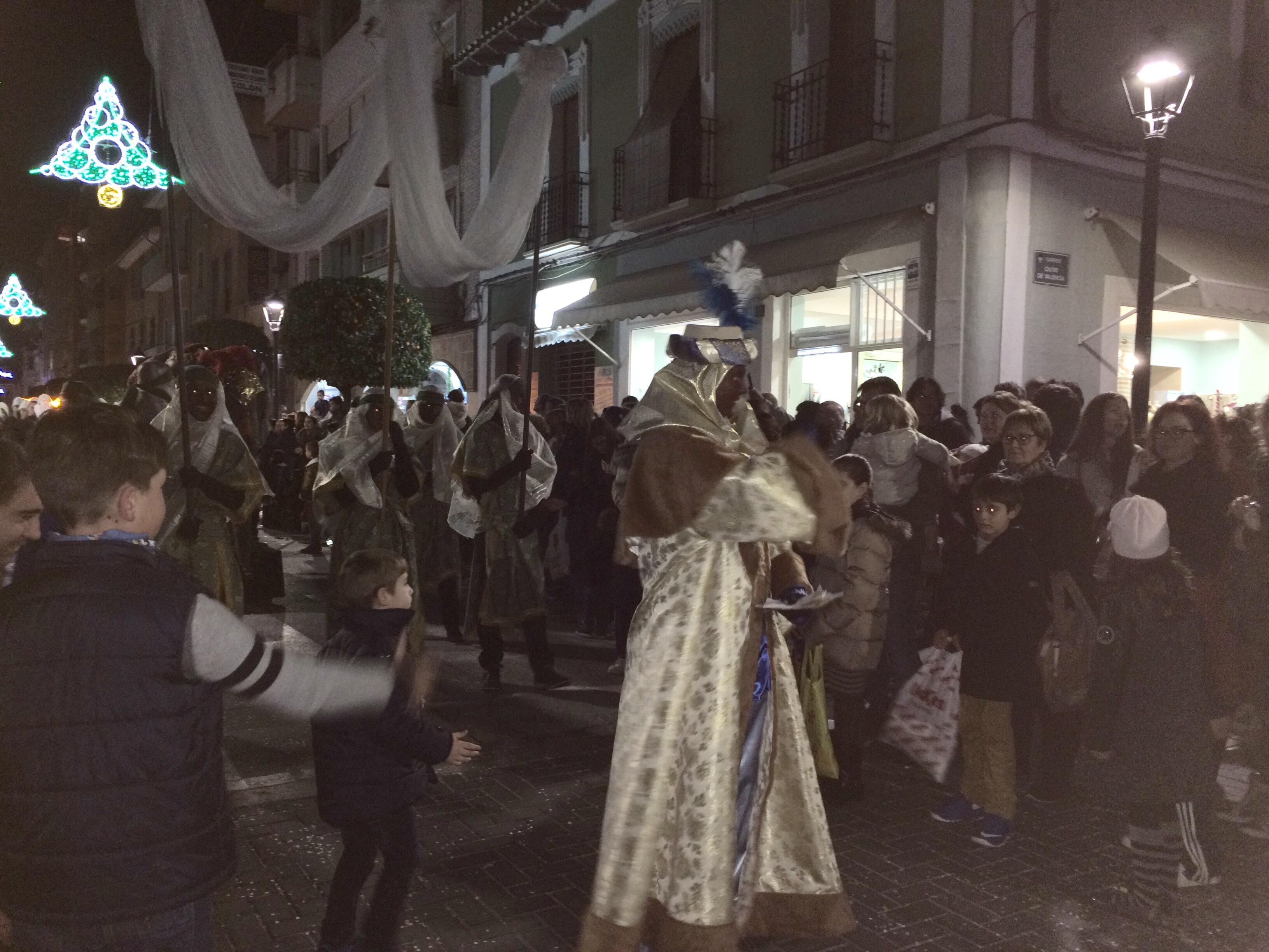 Three Kings parade - Vilajoysa Spain