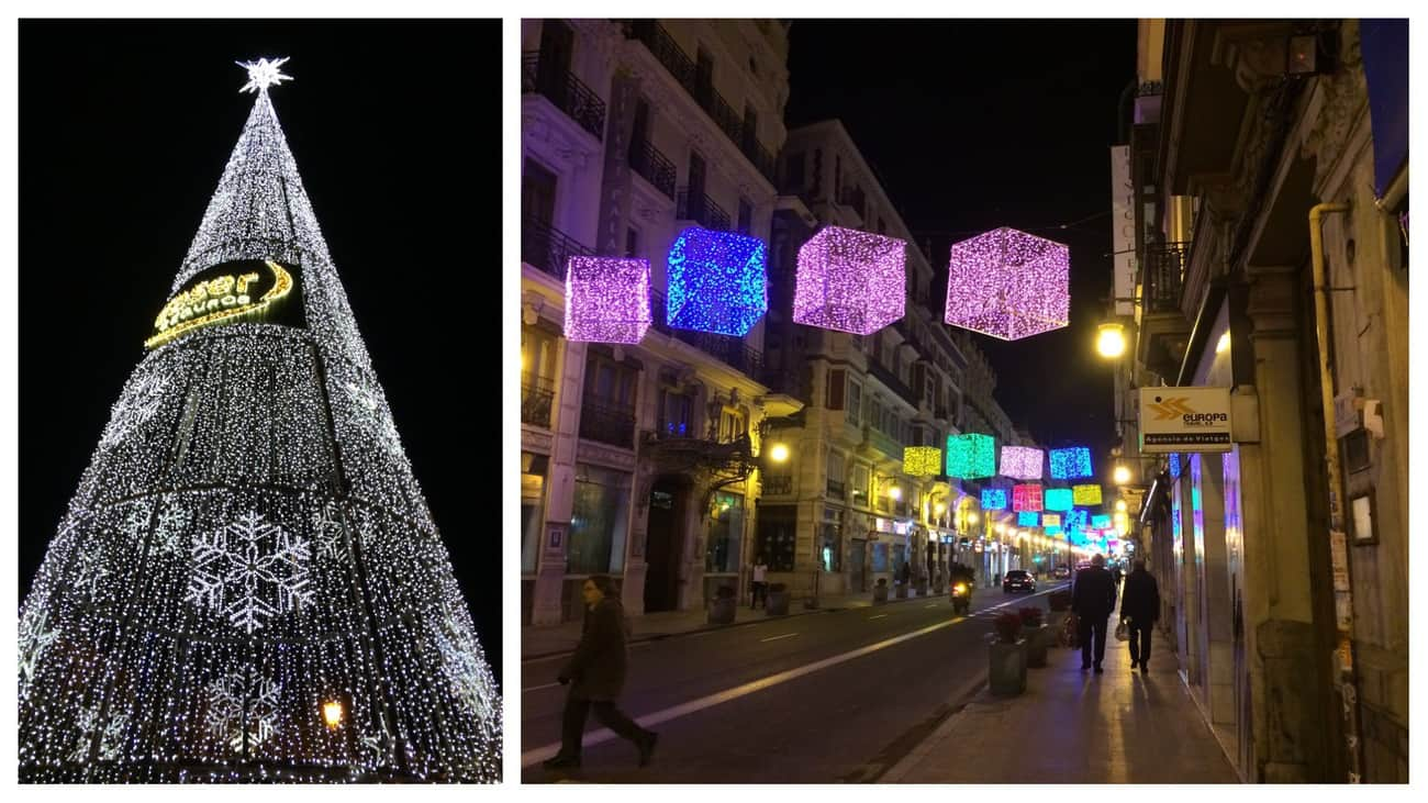Valencia - Christmas lights