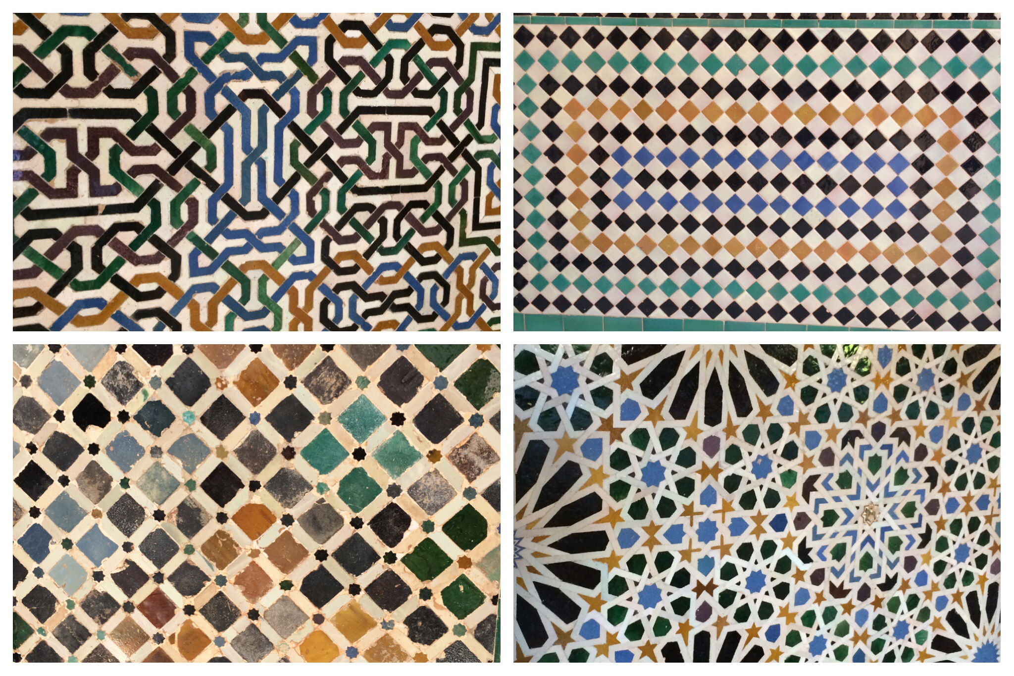 Alhambra Granada Spain - patterns everywhere