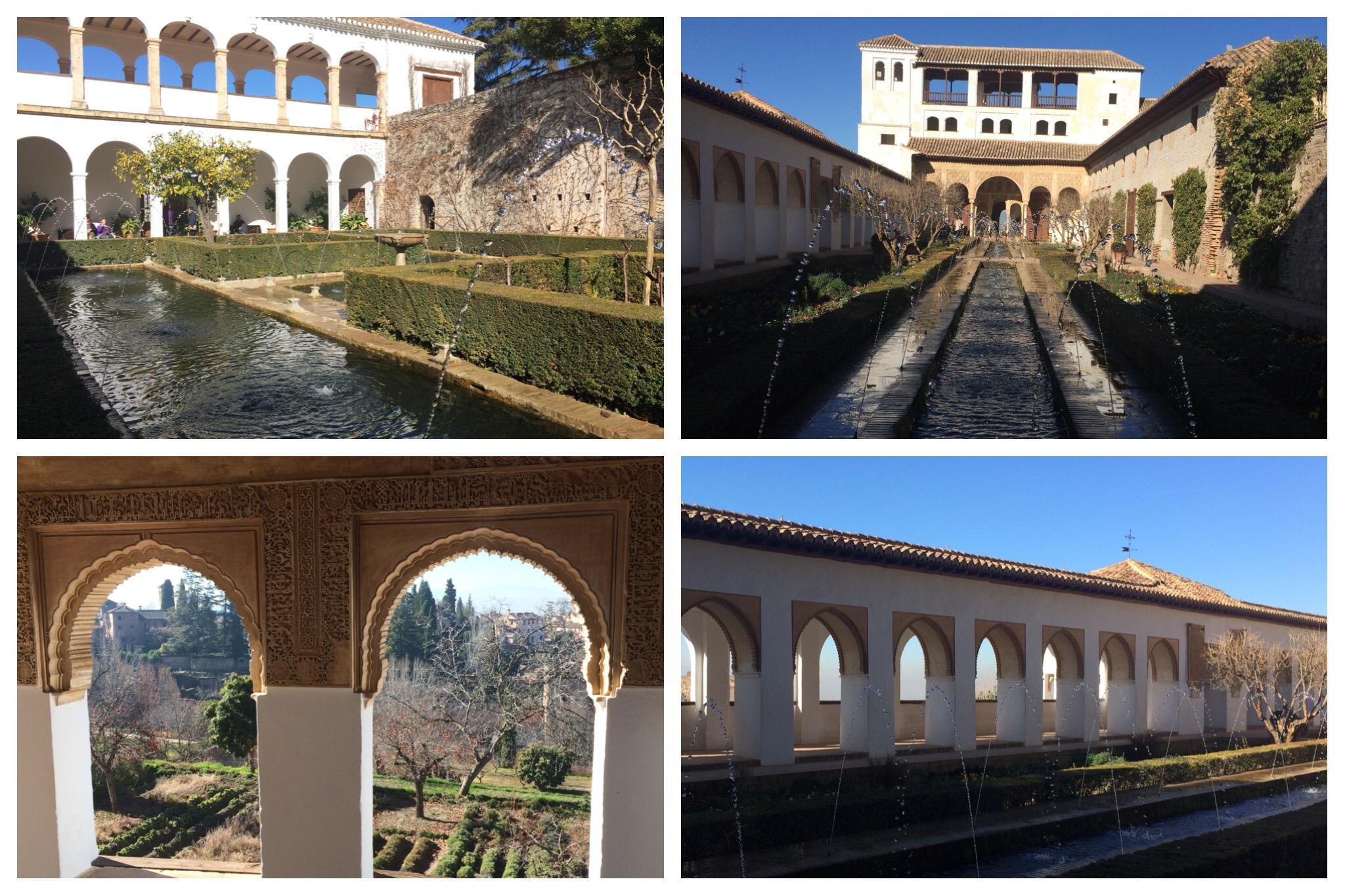 Alhambra Granada Spain - Generalife