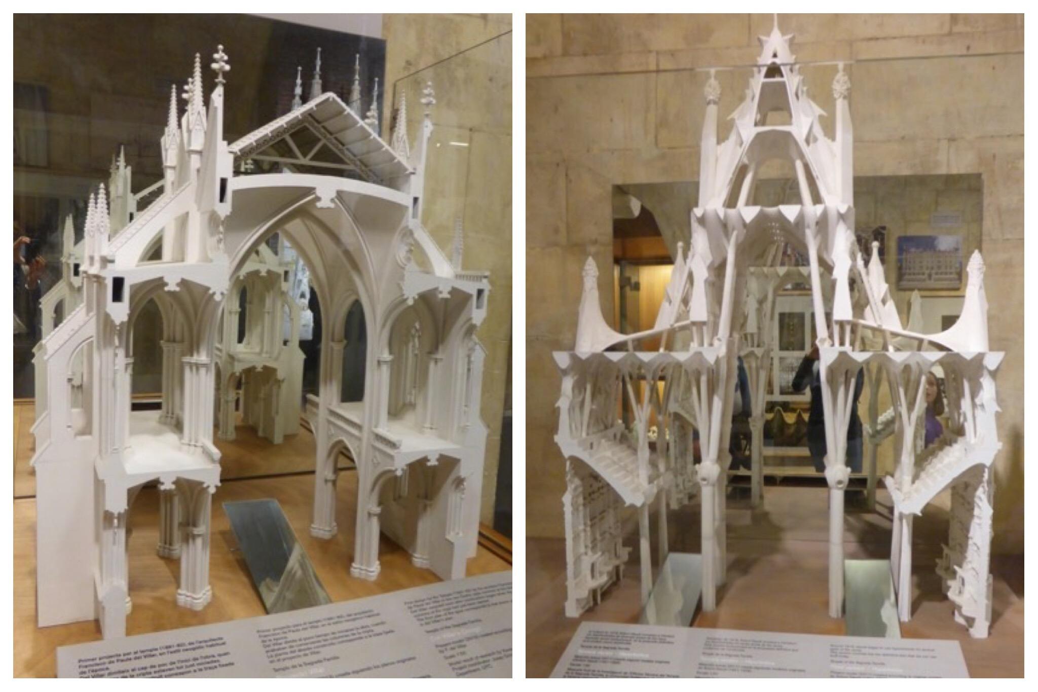 Barcelona - Sagrada Familia Original models