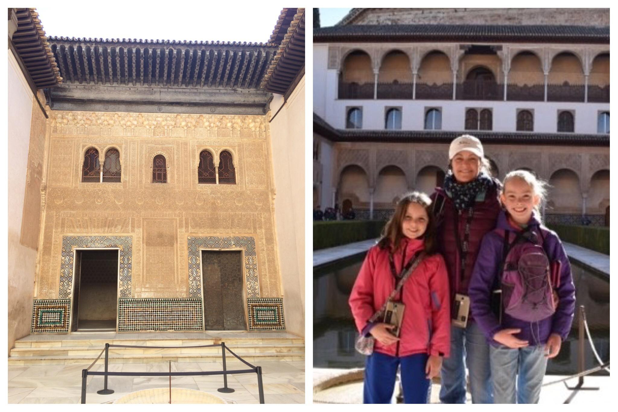 Alhambra Granada Spain - Nasrid Palaces