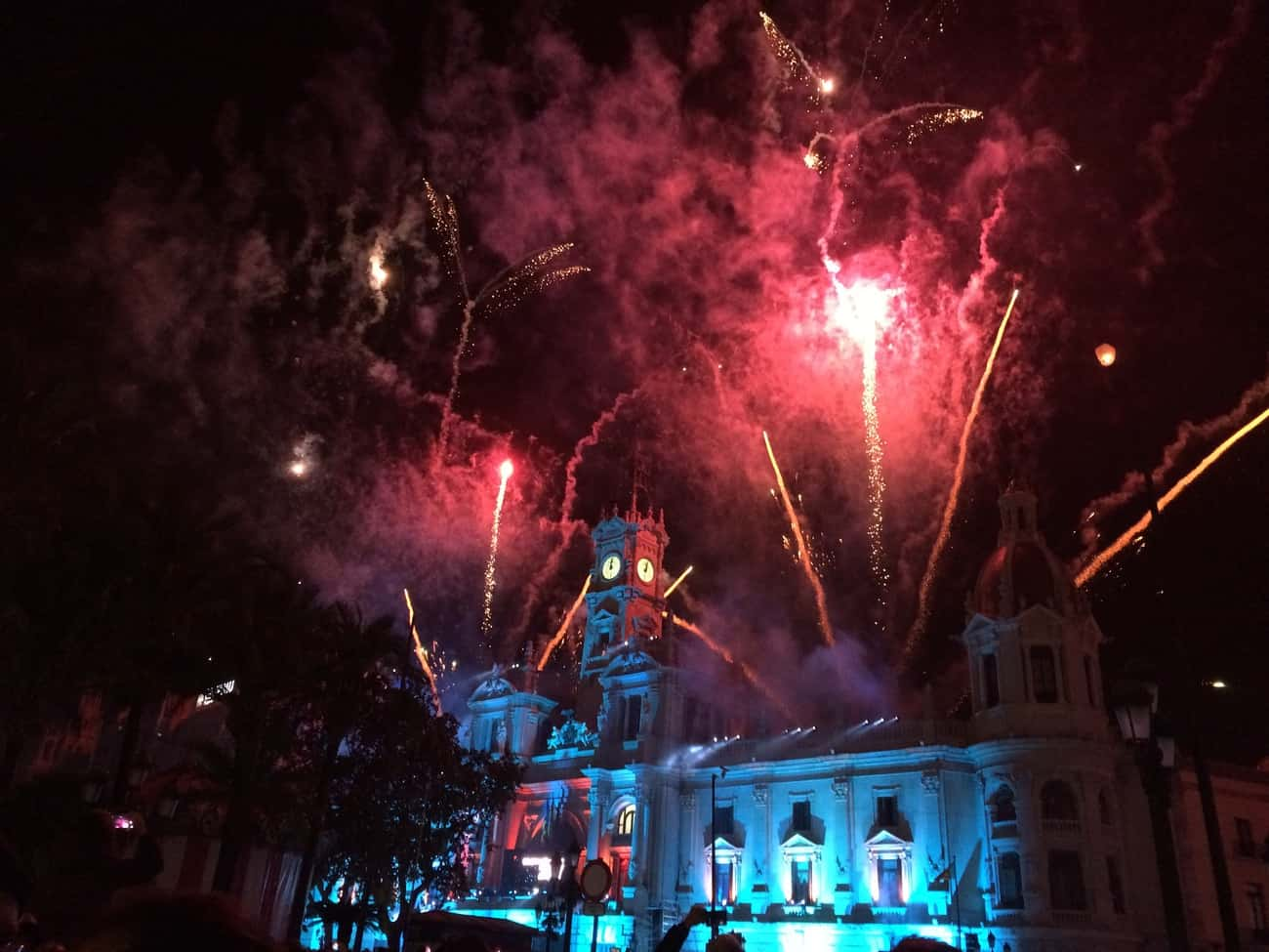 Valencia - New Year's Eve fireworks