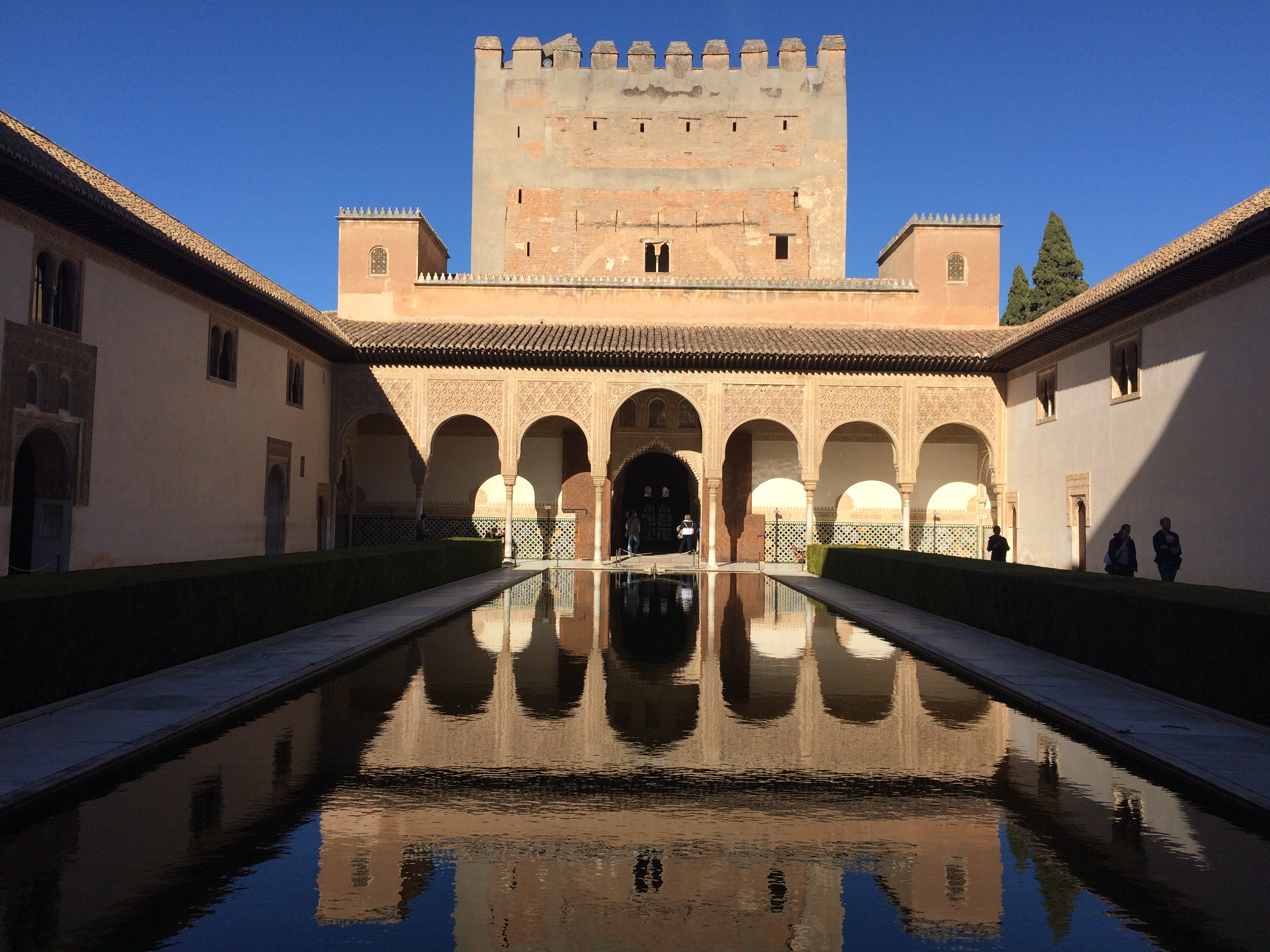 Alhambra Granada Spain - Court of the Myrtles
