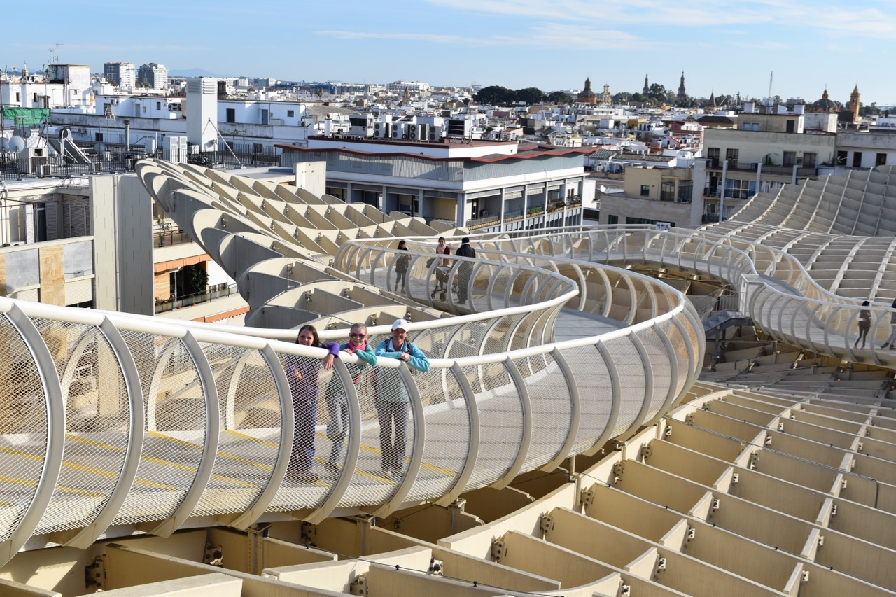 Seville - Metropol Parasol walkways