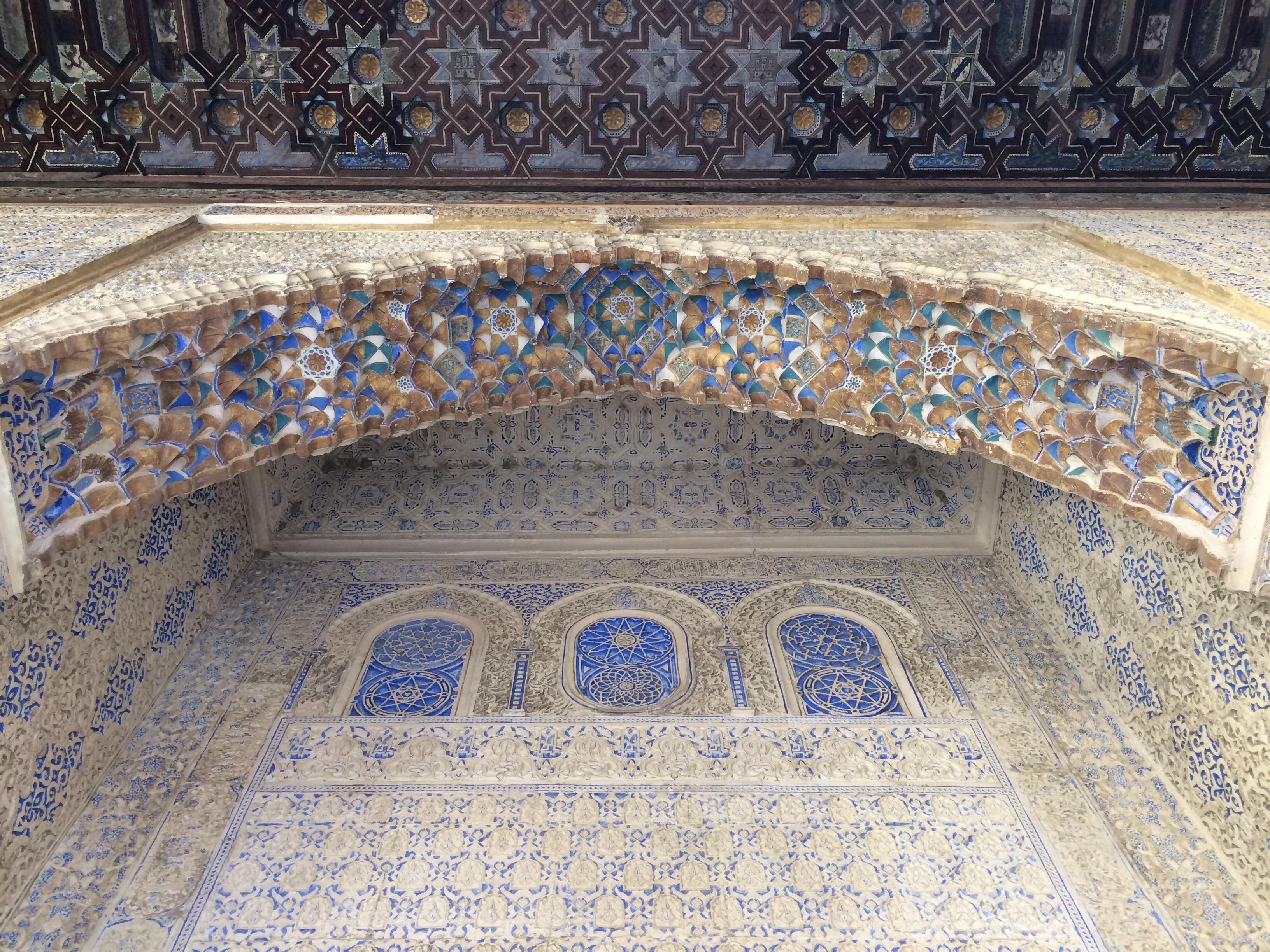 Seville - Alcazar- exquisite detailing