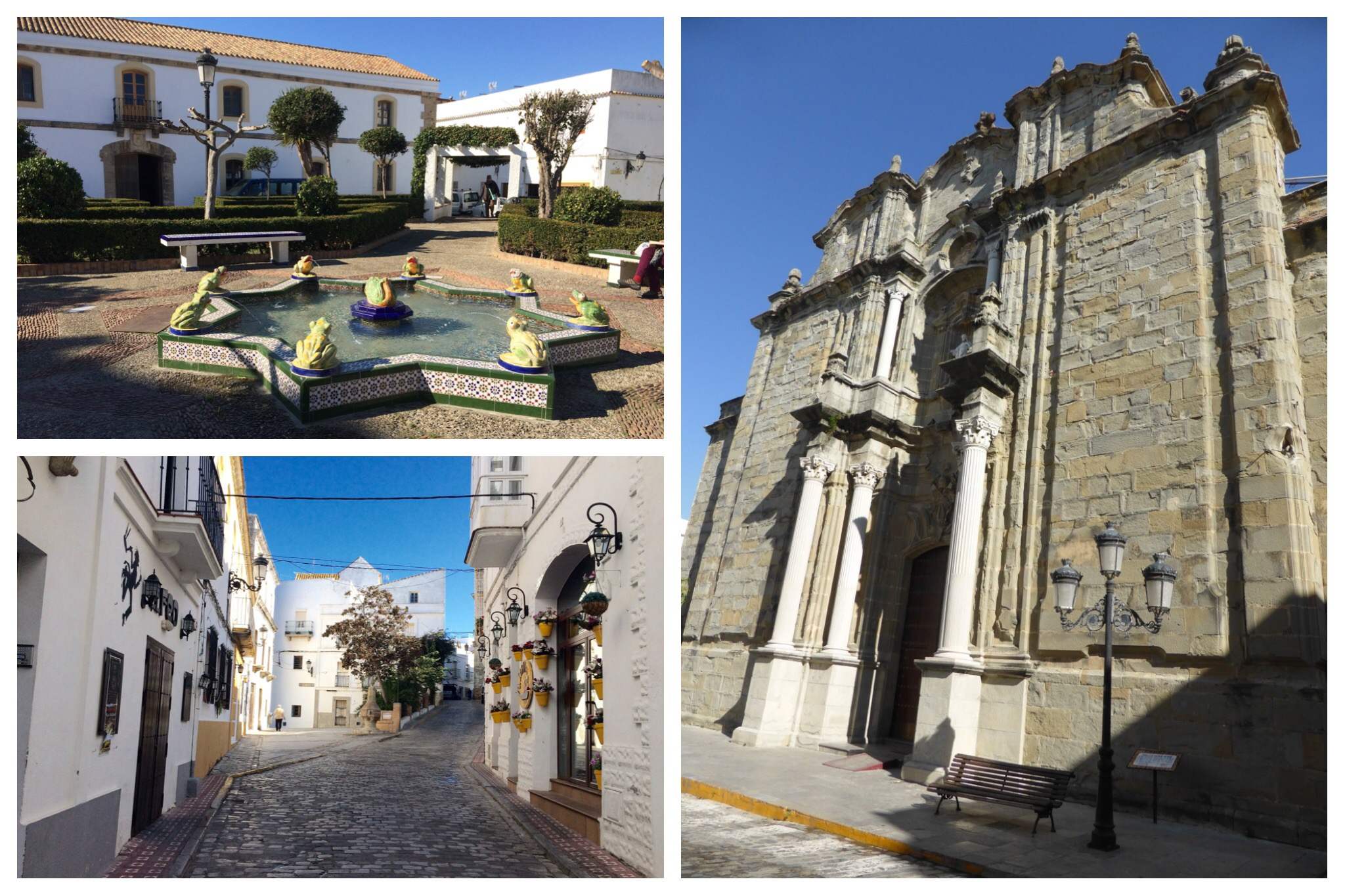 Tarifa - Plaza Santa Maria, Iglesia San Mateo