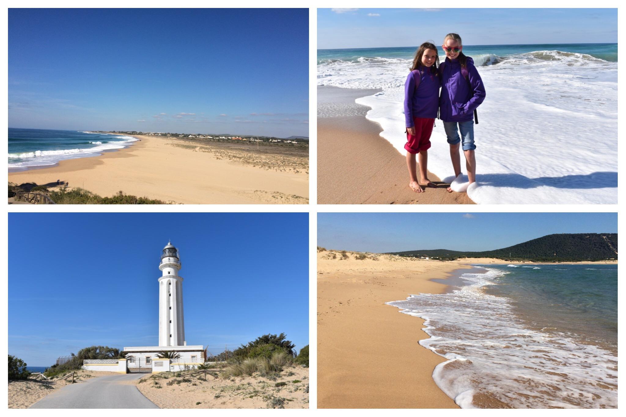 Cape Trafalgar - lighthouse and beaches