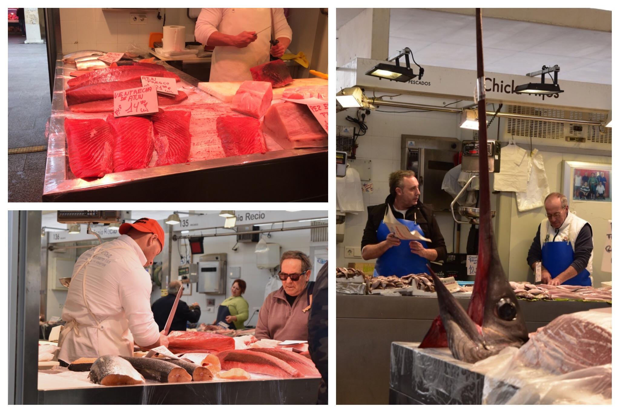 Cadiz - fish market