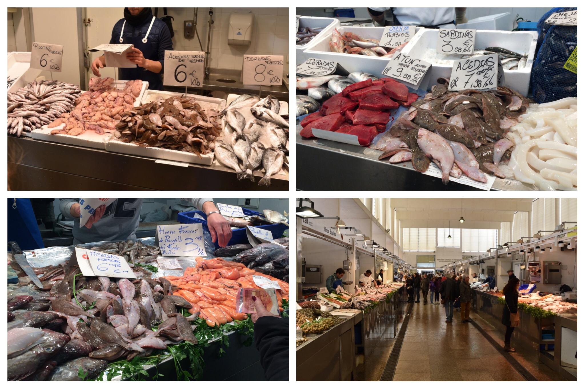 Cadiz - fish market (2) huge variety