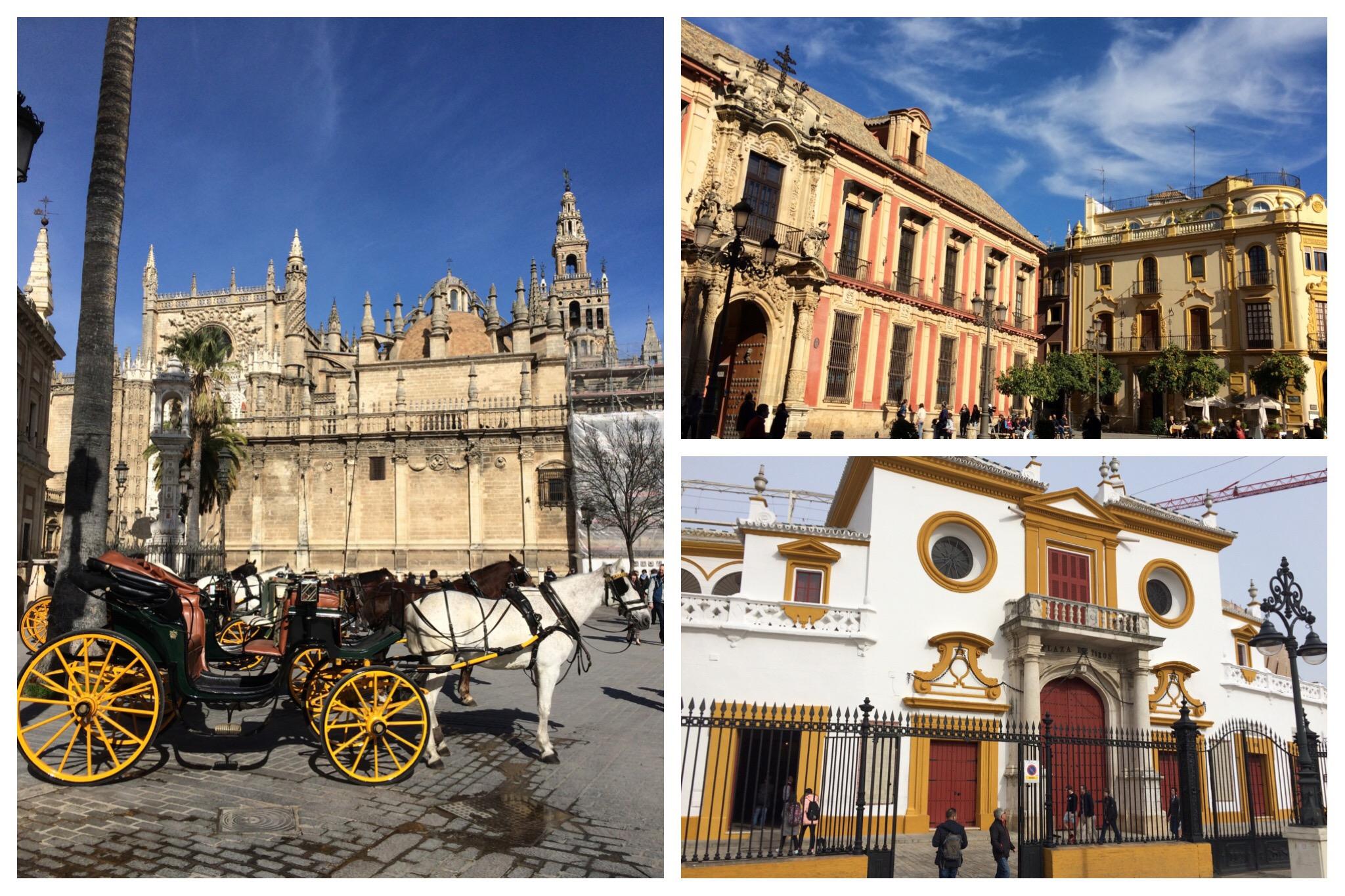 Seville - colourful city