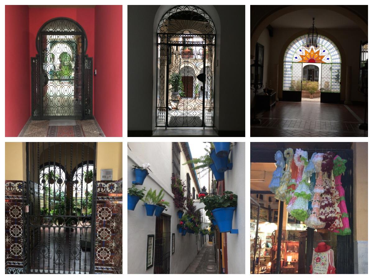 Córdoba colourful hidden courtyards